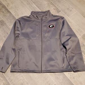 Georgia Bulldogs Zip Up Fleece Jacket